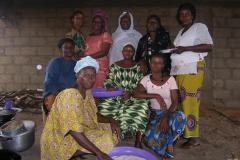 Archivo Marcha Mundial de las Mujeres, Selingue, Malí, 2007. Nyéléni - Foro Internacional para la Soberanía Alimentaria.