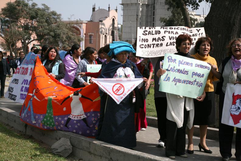 Memoria viva: los Encuentros Internacionales de la Marcha Mundial de las Mujeres